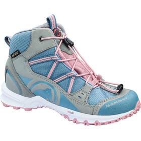 Mammut Nova Mid GTX Shoes Kids neutral grey-cloud